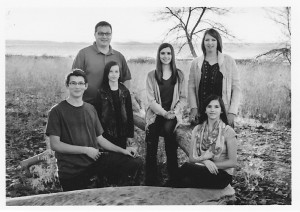 Our family: TJ, Jenn, children: Caleb, Sienna, Jaidyn, and Kelsee. Fall 2015